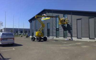 Harol SC800 Aero Zip Screen monterad till Pgross i Lund.