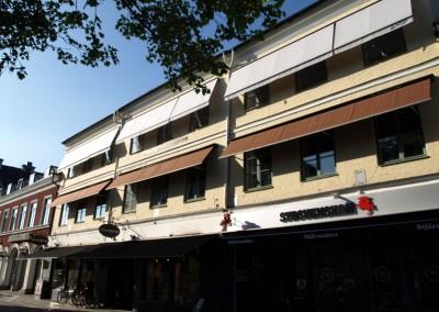 Lunex Optima Fönstermarkiser med Somfy motor och sol/vind styrning