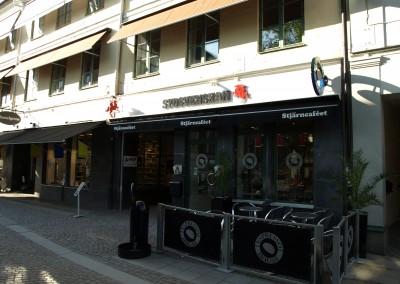 Markiser åt Stjärncaféet i Lund