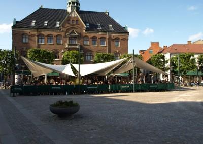 Solskydd, Stortoget Lund