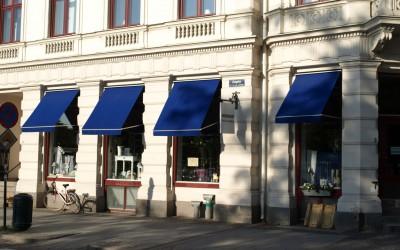 Fönstermarkiser i Lund
