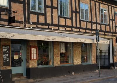 Lunex Finess, Terrassmarkis till Café i Lund