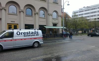 Harol Duostore monterad åt Pustervik i Göteborg
