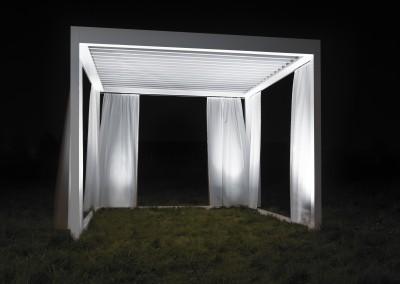 Fristående Harol Umbris – Markis med rörliga aluminiumlameller