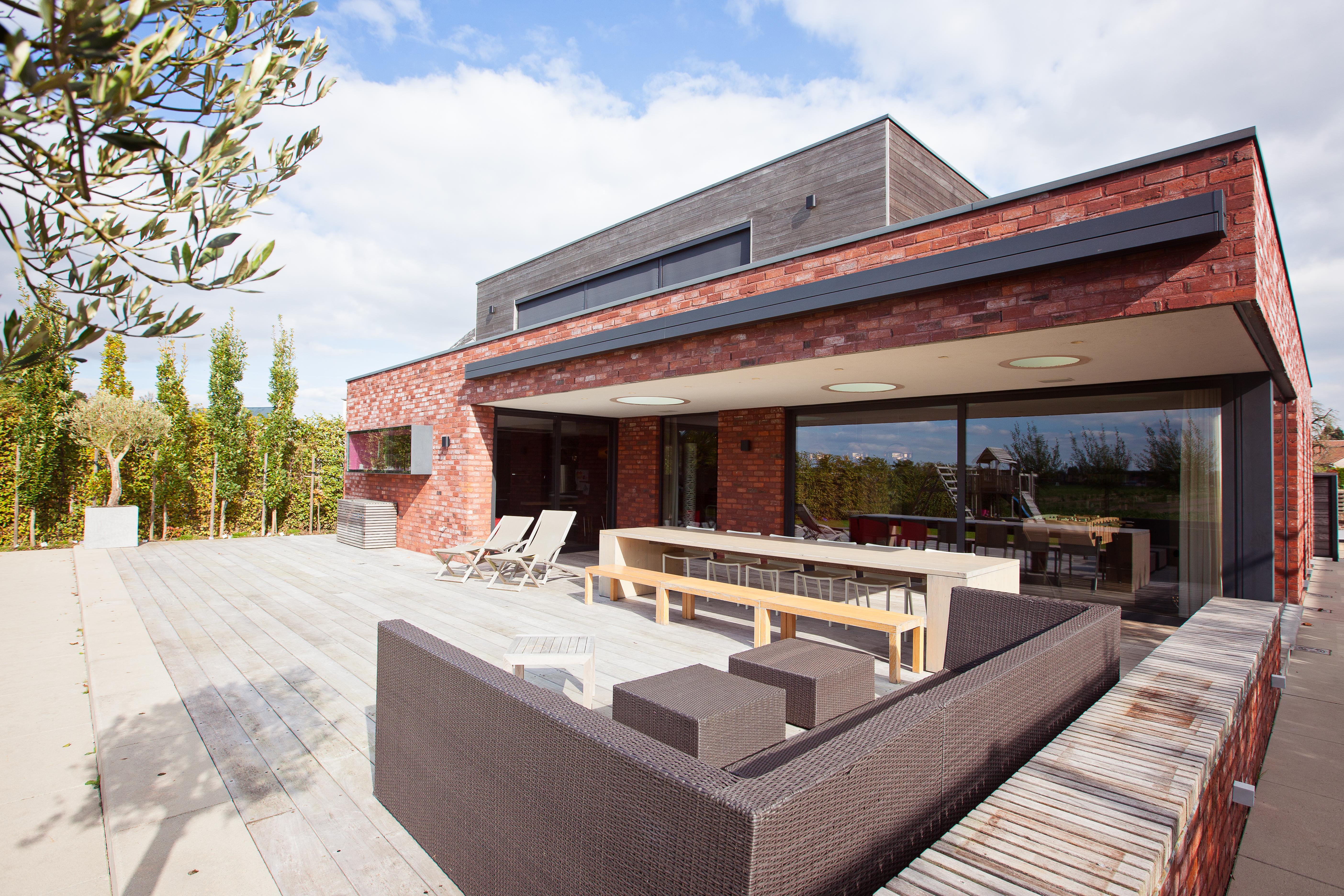Harol BX270 smälter bra in i den moderna designen på huset.